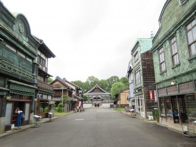 新緑の江戸東京たてもの園を歩く 東ゾーン編