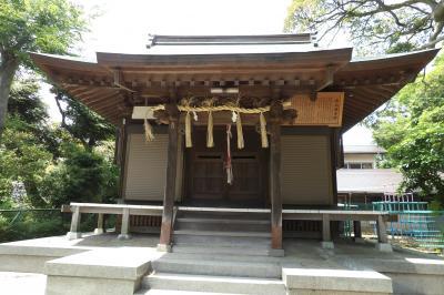 白山神社(横浜市南区別所2)