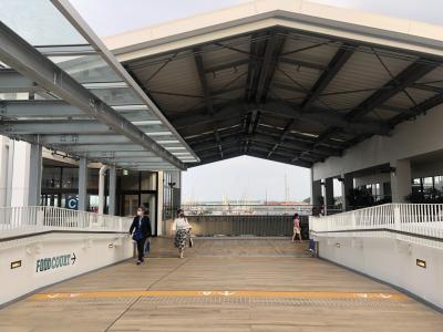 リニューアルした三井アウトレットパーク横浜ベイサイドへ