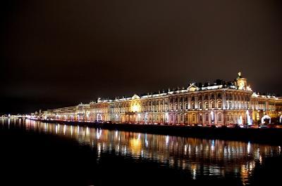 初めてのロシア旅行(5日目前半 サンクトペテルブルグへ! サプサン号とホテル紹介)