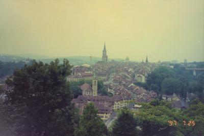 《メモリー》1997年7・8月 海外出張扱いで行くスイス【その1】 ベルン・ジュネーブ・モントルー