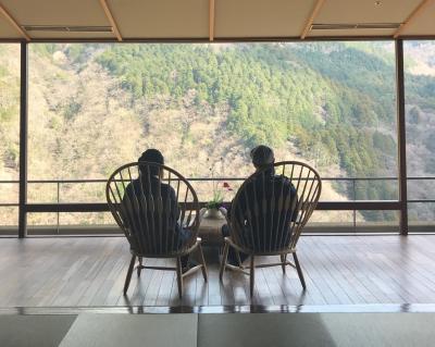 2020年 春休み親子旅は湯河原と箱根の温泉へ☆vol.8 吟遊露天風呂からの朝焼♪宮ノ下から小田原へ。