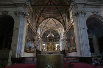 雨のミラノは美術館に行こう! 神秘的なサン・マルコ教会