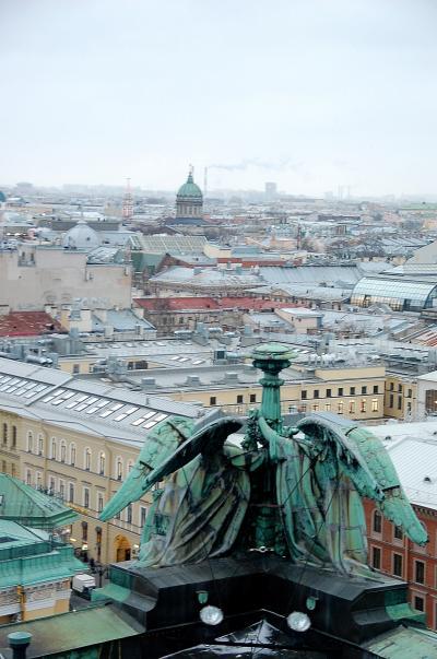 初めてのロシア旅行 (6日目 サンクトペテルブルグ イサーク大聖堂と街歩き)