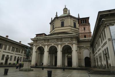 雨のミラノは美術館に行こう! サン・ロレンツォ・マッジョーレ教会へ