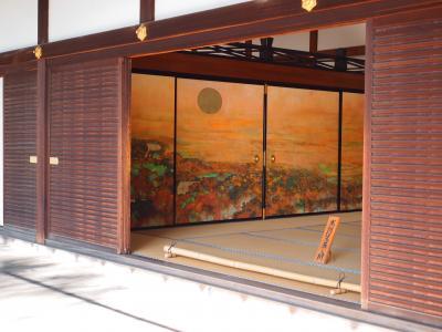2019年冬 京都と奈良のひとり旅、一日目【1】妙心寺の特別公開寺院はしご・障壁画が素晴らしい龍泉菴、麟祥院、天球院