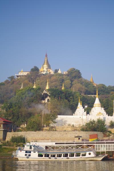 ミャンマー④マンダレーからバガンへのエーヤワディー川下り