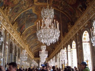 初めてのフランス7日間(2010年7月)後編:モンマルトルの丘、ベルサイユ宮殿、ルーブル美術館など