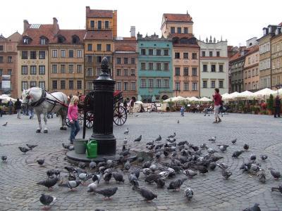 今、思えば・・・ポーランド二都、世界遺産を巡る旅~その5~ in ワルシャワ