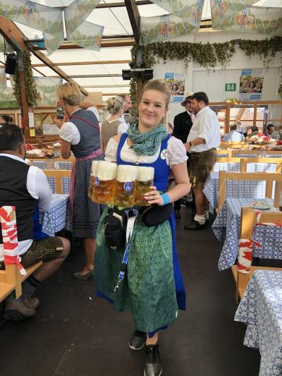 2019年9月 ドイツに行って来ました。Part.1 ミュンヘンでオクトーバーフェストに参加。