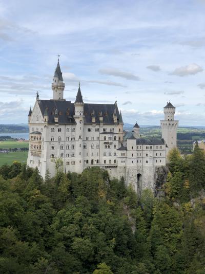 2019年9月 ドイツに行って来ました。Part.2.ホーエンシュバンガウでノイシュバンシュタイン城絶景。