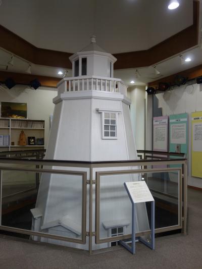 安乗埼灯台資料館で灯台の歴史をまなびました。灯台の役割も変わりましたね。