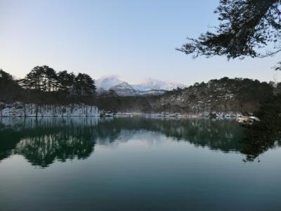 裏磐梯でリゾートを満喫&雪見旅・その4.リゾートで温泉まったり神秘的な絶景に感動。