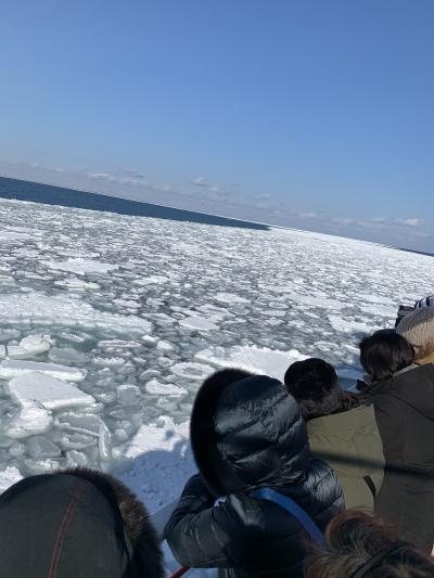 雪まつりと流氷2020