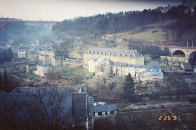 1991年、湾岸戦争の真っ只中に卒業旅行⑨(ルクセンブルクからスイスへ、気がつけば戦争は終わってた)