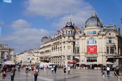 南フランス、モンペリエ 聞かない街だが...