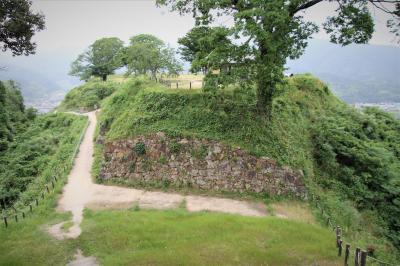 戦国時代に山陰に覇を唱えた尼子6代170年の夢の址月山富田城登城
