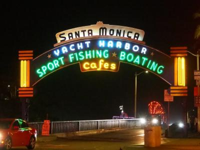 明るく陽気なロサンゼルス!【3日目後編:サンタモニカ散策&BOA Steakhouseでディナー】