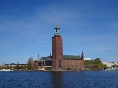 混乱の10連休、北欧の美しい自然と街巡りの旅:スウェーデン、ノルウェー旅行【30】(2019年GW 8日目① 海に浮かぶ鐘楼)