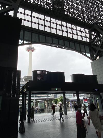 久しぶりに用事で京都へ。あいにくの雨で観光無し。