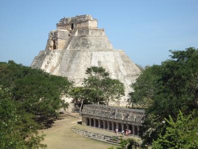 巣ごもり回想録⑦ メキシコ:ウシュマル・カバー遺跡