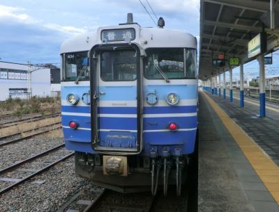 青春18きっぷ新潟紀行・その1.日本海を眺め、昭和の電車115系に乗る。