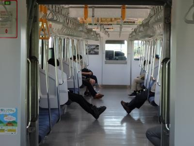 びっくり土浦市役所&空港バスの運休でローカル線の旅へ【親子で東京往復記5月編その4】