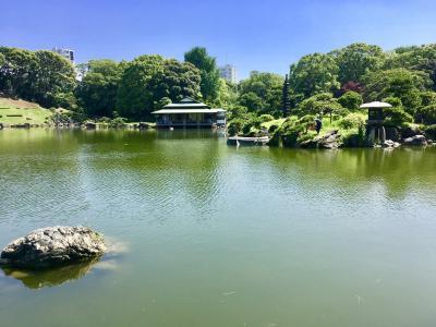 東京の東でアート鑑賞と庭園散策