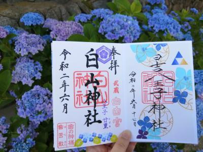 '20 東京御朱印さんぽ JR中央線②(西八王子駅 日吉八王子神社)