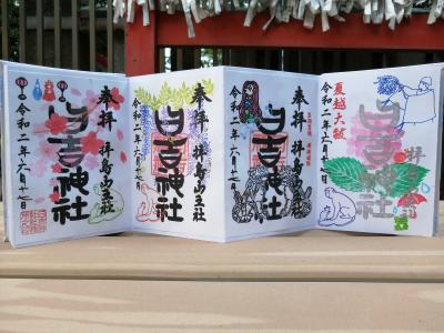 '20 東京御朱印さんぽ JR中央線③(日野駅 日野八坂神社~立川駅 拝島日吉神社)