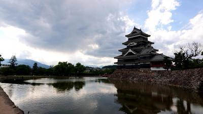 松本城を久しぶりに見てきました。