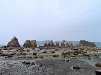 リベンジ和歌山(5)☆ 風雨の中の橋杭岩と三段壁
