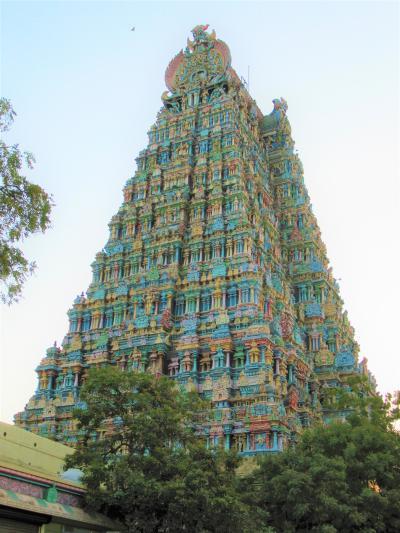 南&西インドの旅③ これが見たかったマドゥライの「ミーナークシー・アンマン寺院」