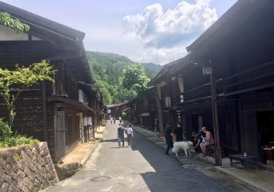 中山道を行く~妻籠、馬籠、奈良井宿、恵那峡