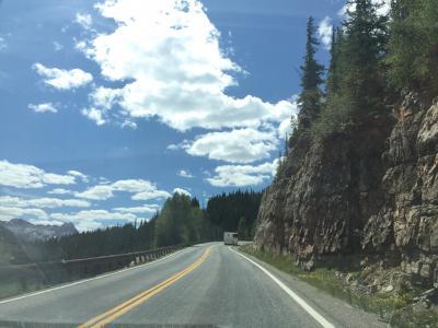 コロラド州 ミリオン ダラー ハイウェイ - シルバートンからデュランゴへ