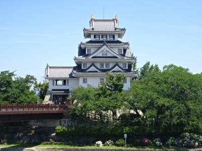 美濃路墨俣宿と歴史資料館墨俣一夜城