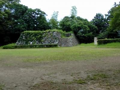 二俣城跡を見た