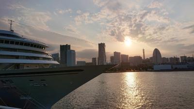 緊急事態宣言解除の翌週末に横浜の大さん橋付近を散策。大さん橋からの景色が最高ヾ(o゚ω゚o)ノ゙