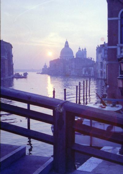 1974年 初海外はパリの1つ星ホテルに1ヶ月 4/4:ヴェネツィアとピサ