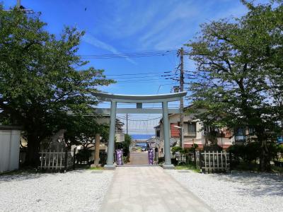 横須賀で、海を見ながら神社めぐり