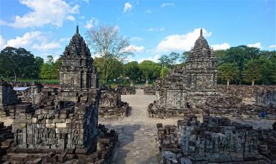 ジャワの休日(4) プランバナンのロロ・ジョングランとセウ寺院
