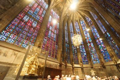 ドイツ旅行記4日目(アーヘン大聖堂、ケルン大聖堂、世界遺産、クリス…