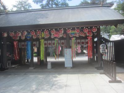野田に来たのだぁ~ 櫻木神社でお参りなのだぁ~ 野田の街を歩くのだぁ~
