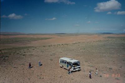 《メモリー》1998年8月 一度行ってみたかったモンゴル【その1】 国内線飛行機で草原と砂漠の中へ