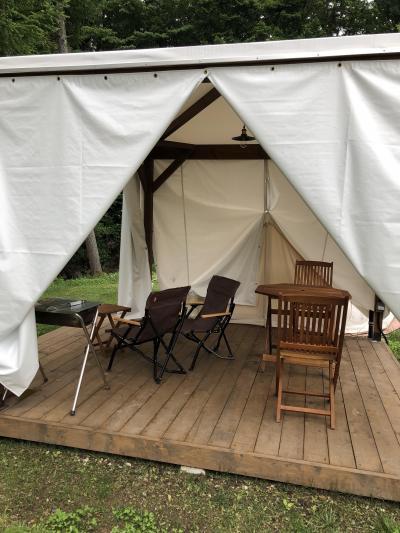 やっやっとのキャンプ・・・なんちゃって軽井沢と本家軽井沢の相対的考察