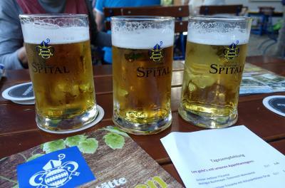 2018 三度目のシニア三人旅 ☆帝国議会場をガイドツアーで見学し、養老院醸造所の地ビールで乾杯!