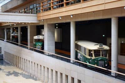 パリ交通公団 RATP本社のミニ交通博物館