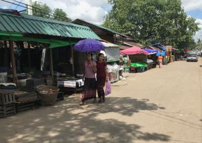 ヤンゴン市内風景