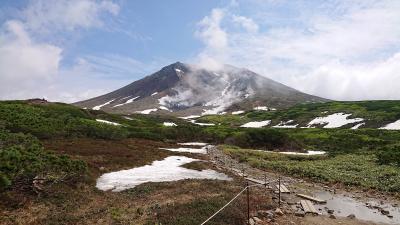 2020年6月、4か月ぶりの北海道、花咲く旭岳