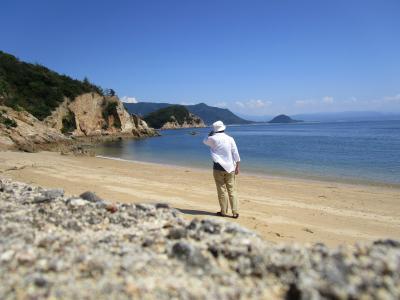 香川県 蔦島  けっこう近くに無人島
